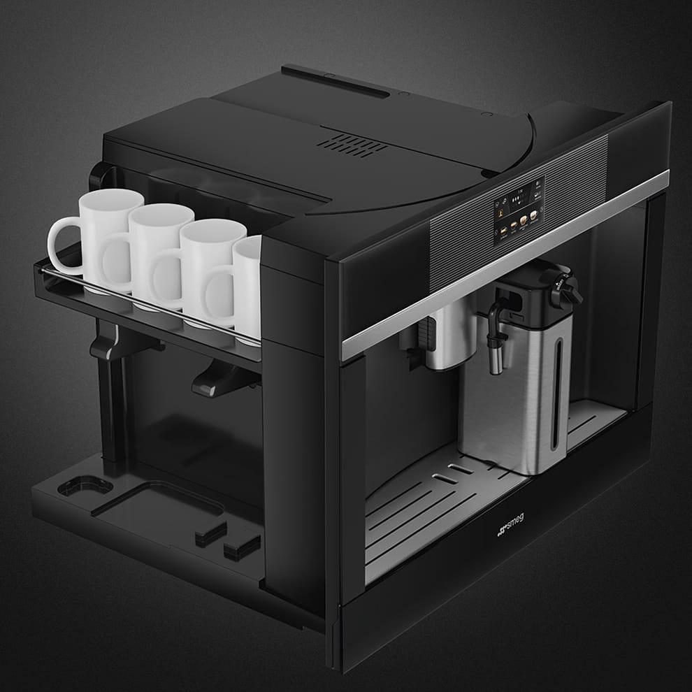 Встраиваемая кофемашина SMEGCMS4104N - 5