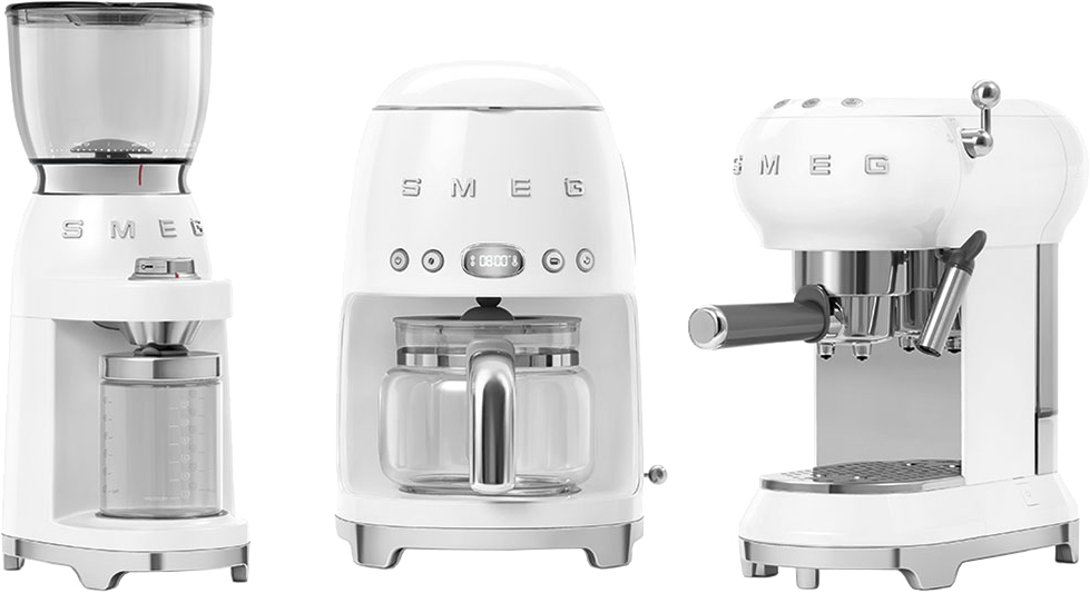 Кофемолка SMEG CGF01WHEU - 1