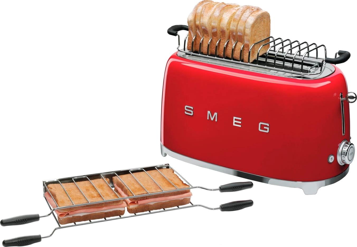 Тостер SMEG TSF02RDEU - 3