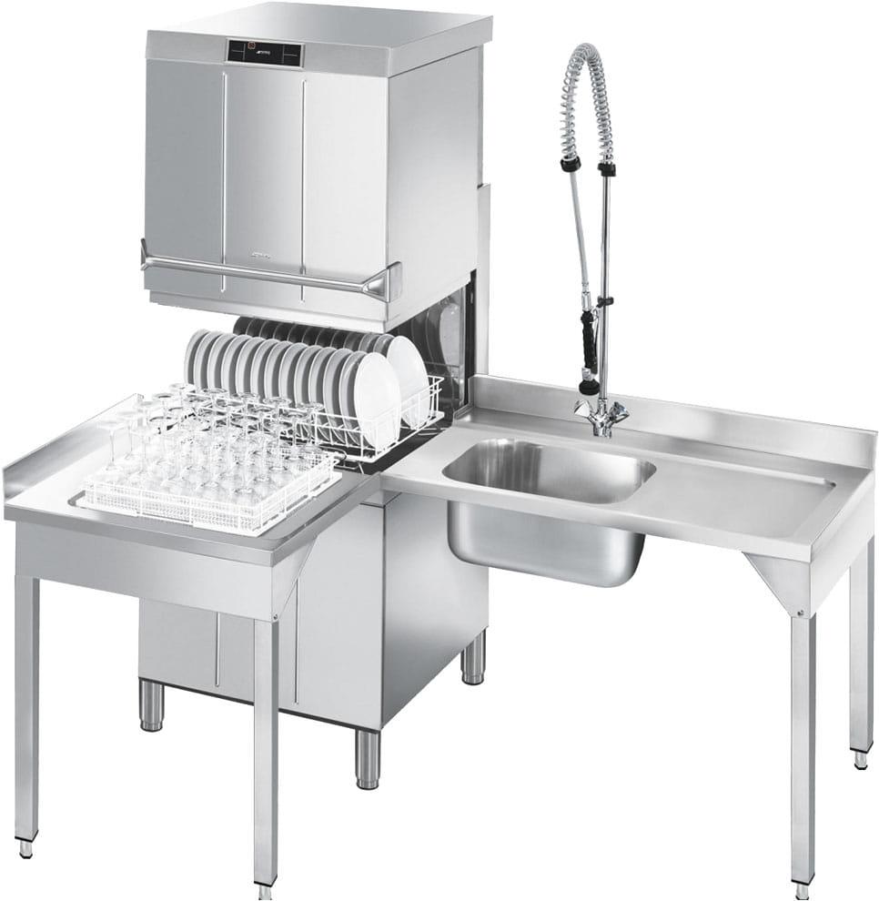 Купольная посудомоечная машина SMEG HTY625DS - 3