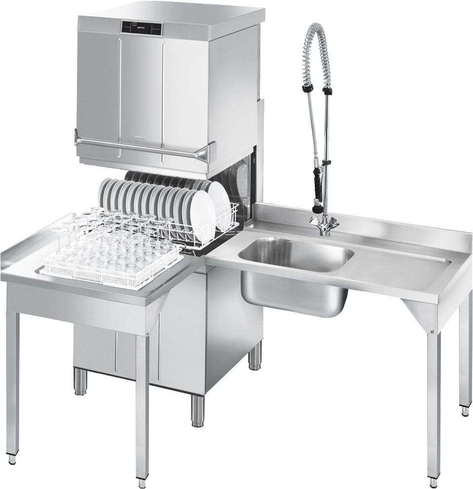 Купольная посудомоечная машина SMEG HTY625DEH - 5