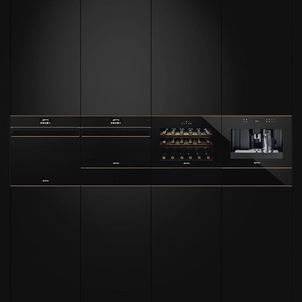 Электрический духовой шкаф SMEGSF4604WVCPNR - 2