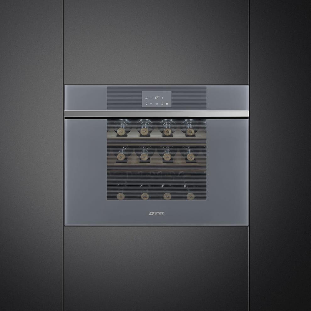 Встраиваемый винный шкаф SMEGCVI121S3 - 1