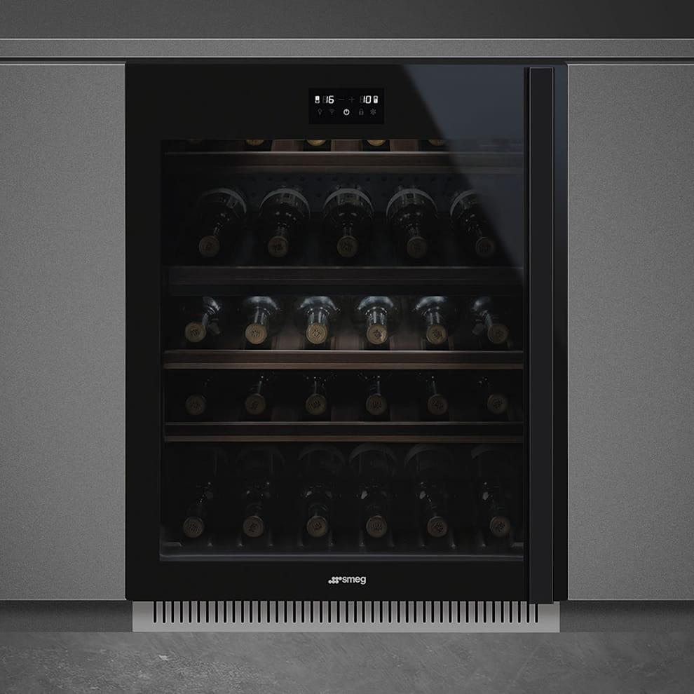 Встраиваемый винный шкаф SMEGCVI638LWN3 - 2