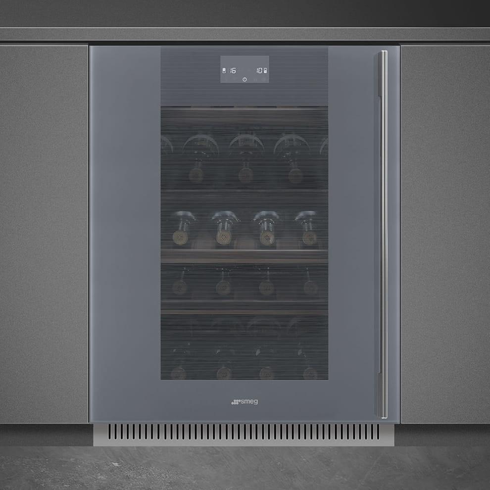 Встраиваемый винный шкаф SMEGCVI138LS3 - 1