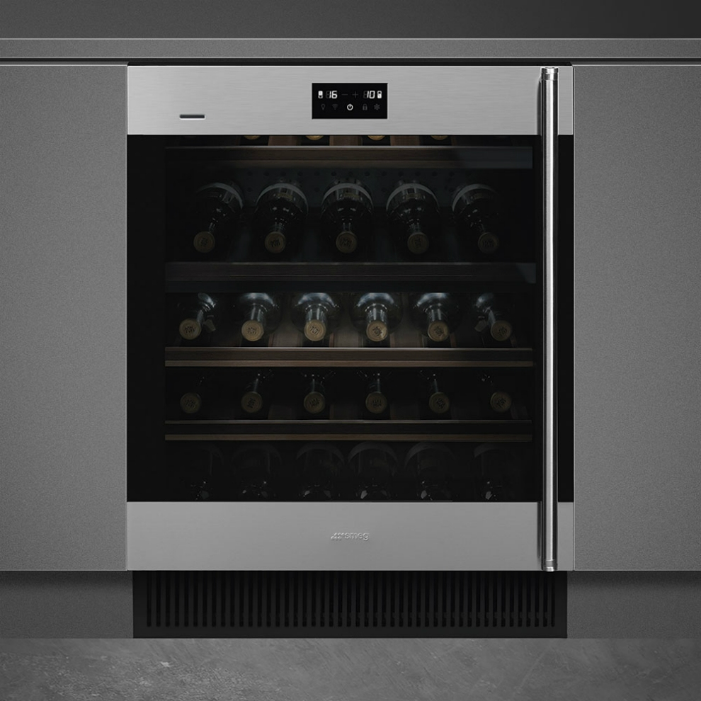 Встраиваемый винный шкаф SMEGCVI338LX3 - 2