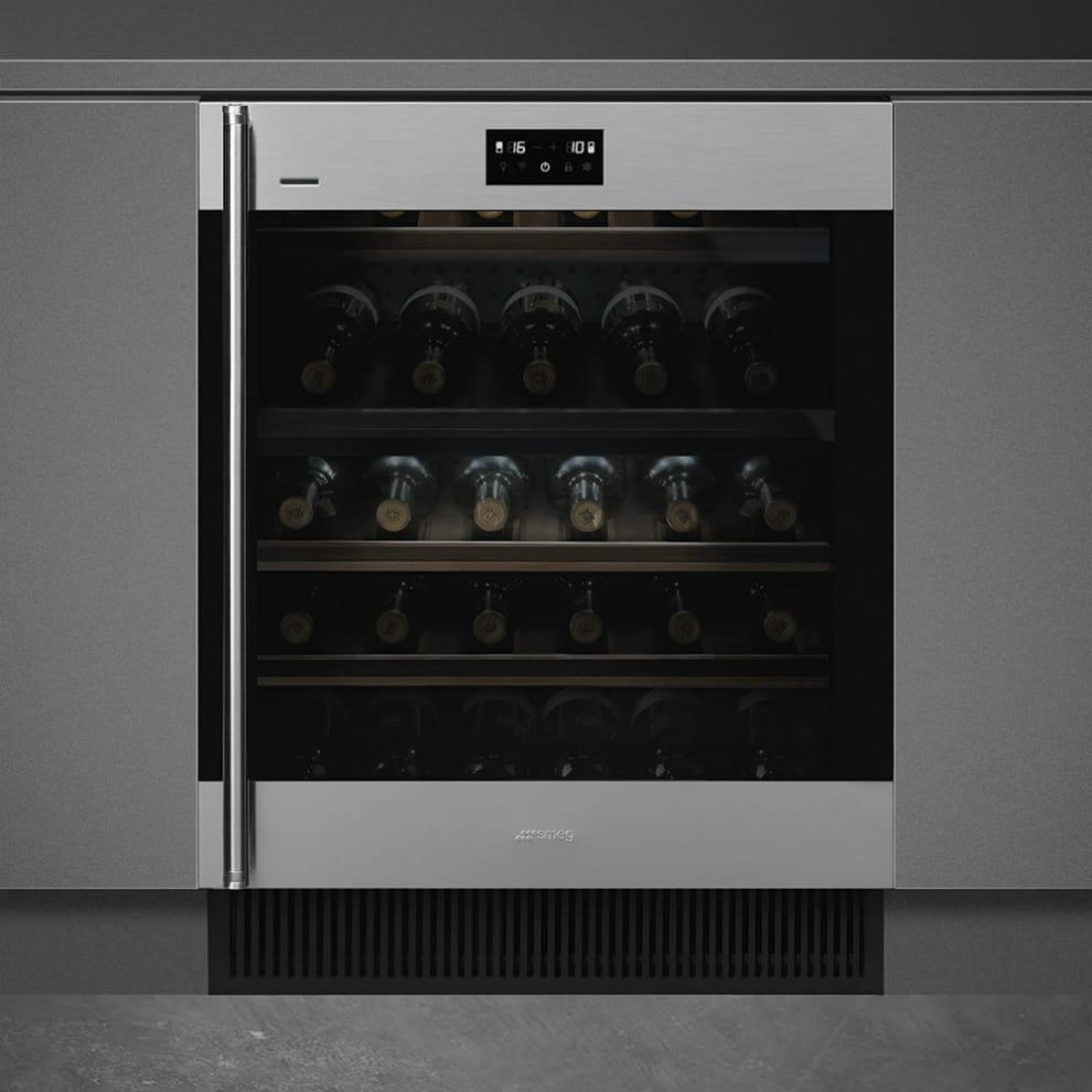Встраиваемый винный шкаф SMEGCVI338RX3 - 2