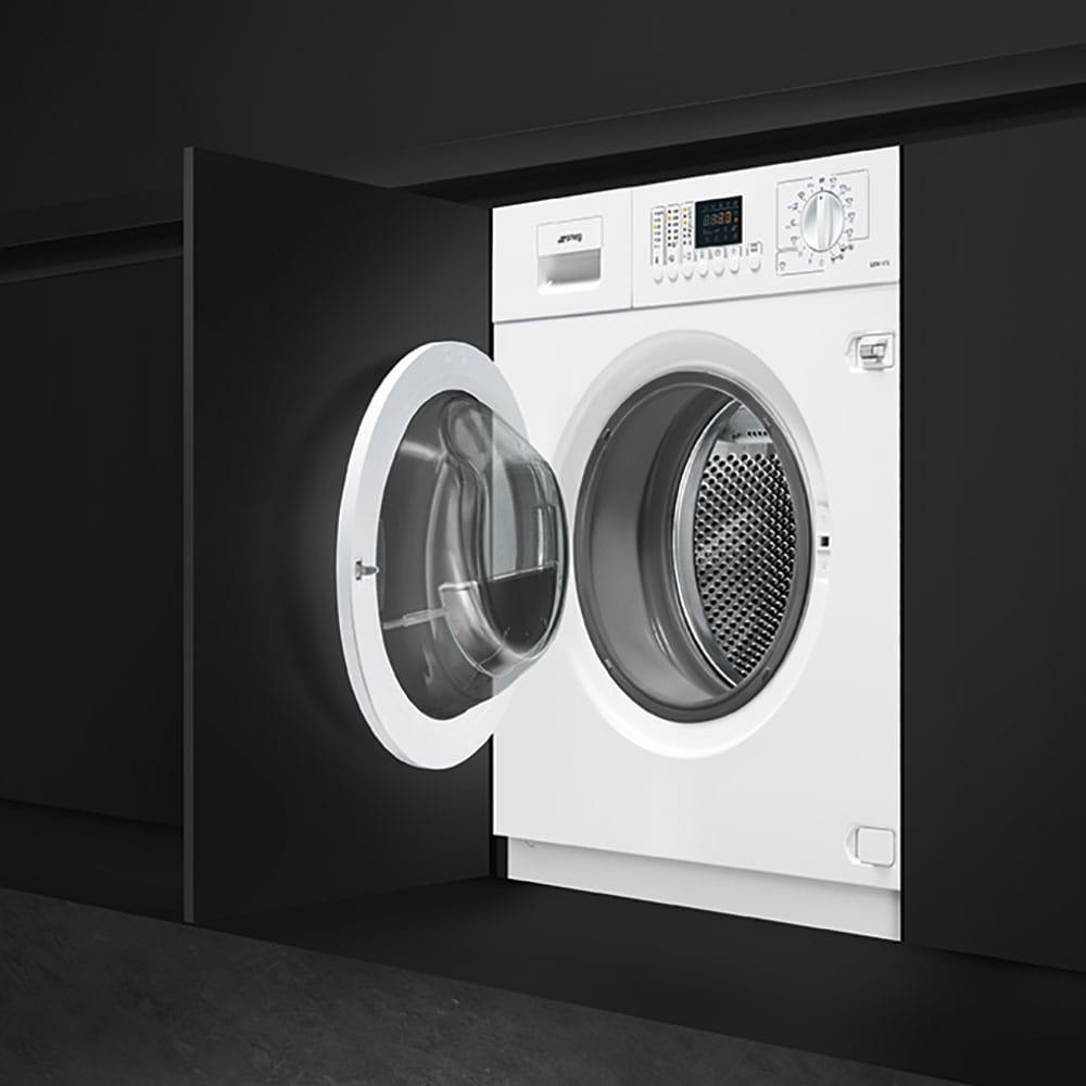 Встраиваемая стиральная машина SMEG LSTA147S - 1