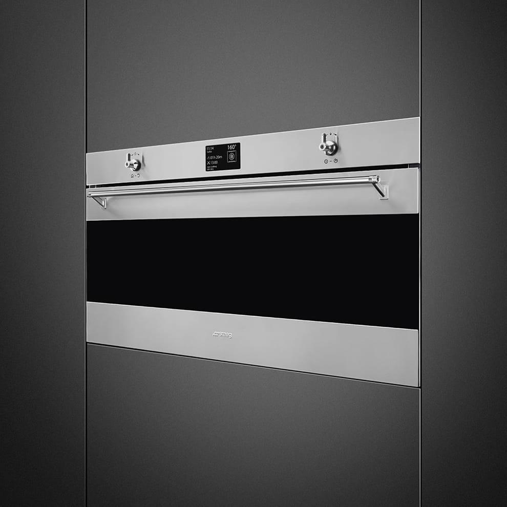 Электрический духовой шкаф SMEGSFPR9395X - 1
