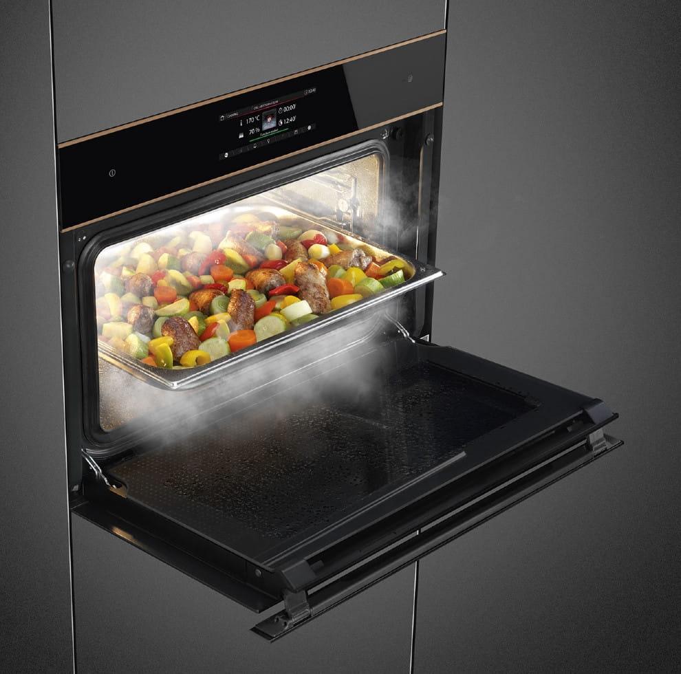 Электрический духовой шкаф SMEGSF4606WVCPNR - 5