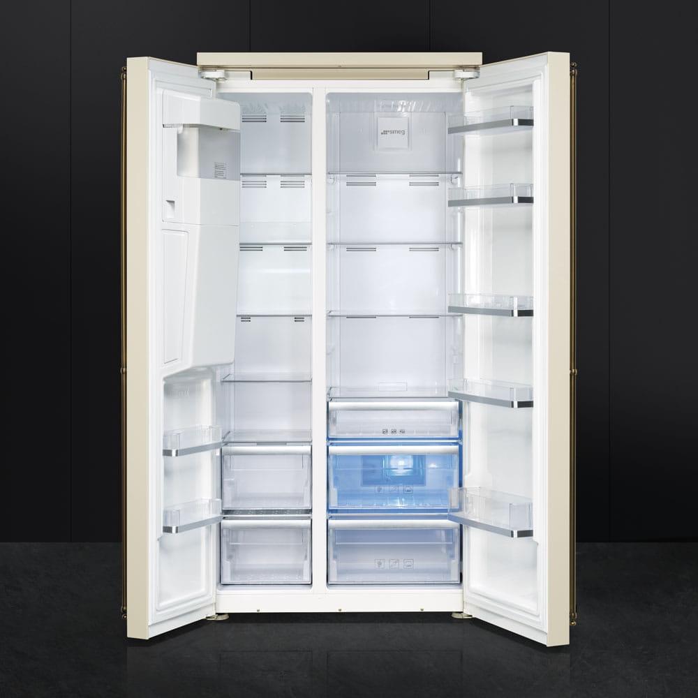 Холодильник SMEG SBS8004PO - 2