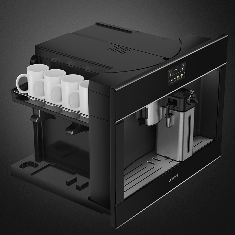 Встраиваемая кофемашина SMEGCMS4604NX - 2