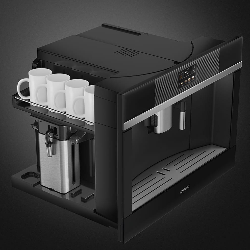 Встраиваемая кофемашина SMEGCMS4104N - 8