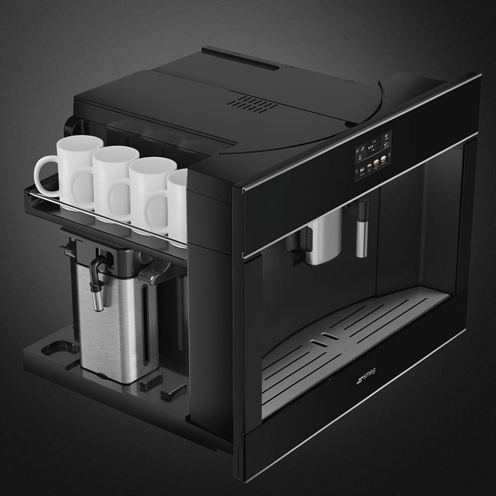 Встраиваемая кофемашина SMEGCMS4604NX - 5