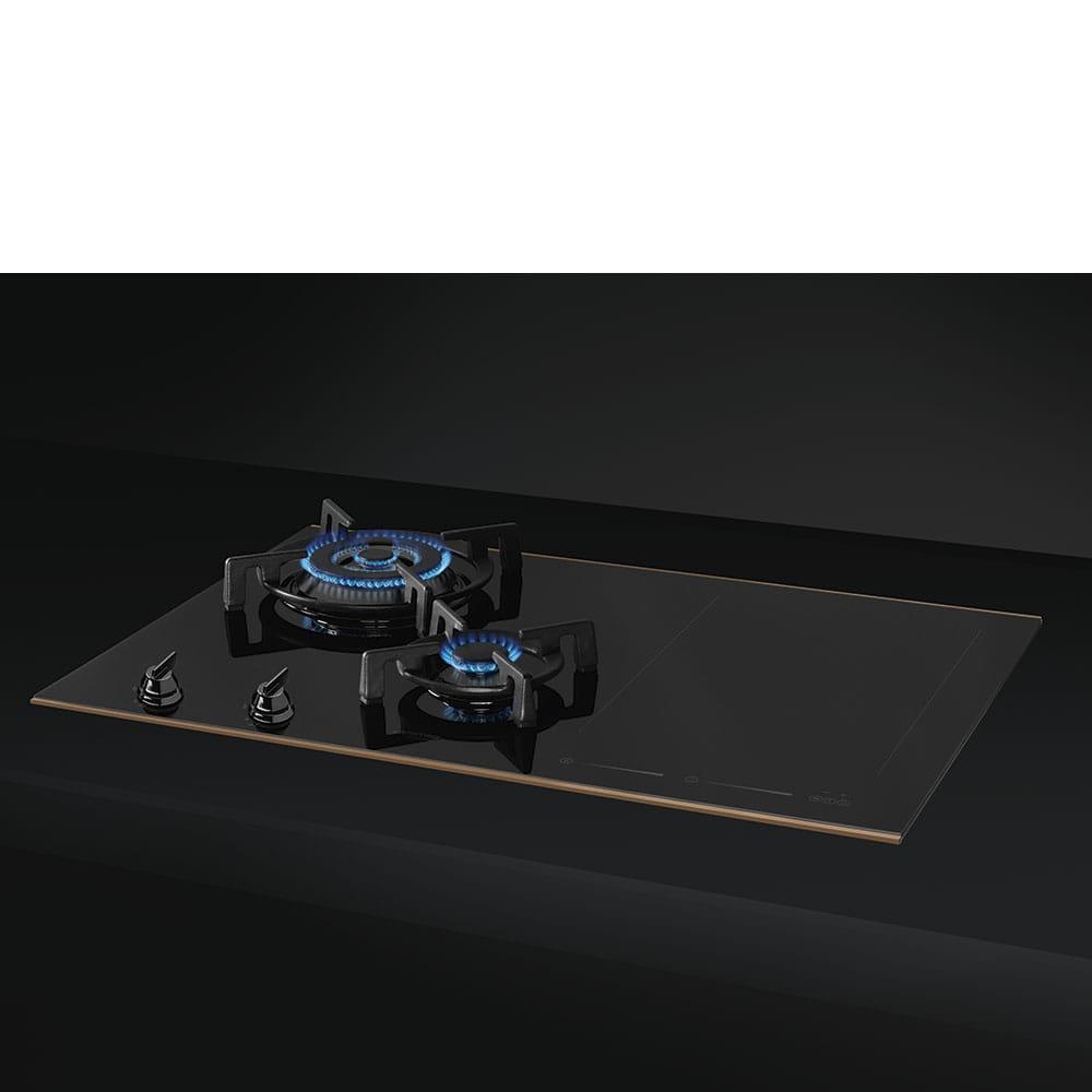 Комбинированная варочная панель SMEG PM6721WLDR - 1