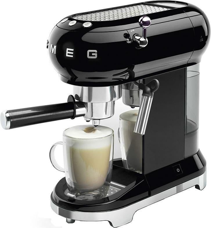 Кофемашина SMEG ECF01BLEU - 7