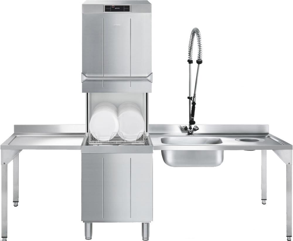 Купольная посудомоечная машина SMEG HTY520D - 1