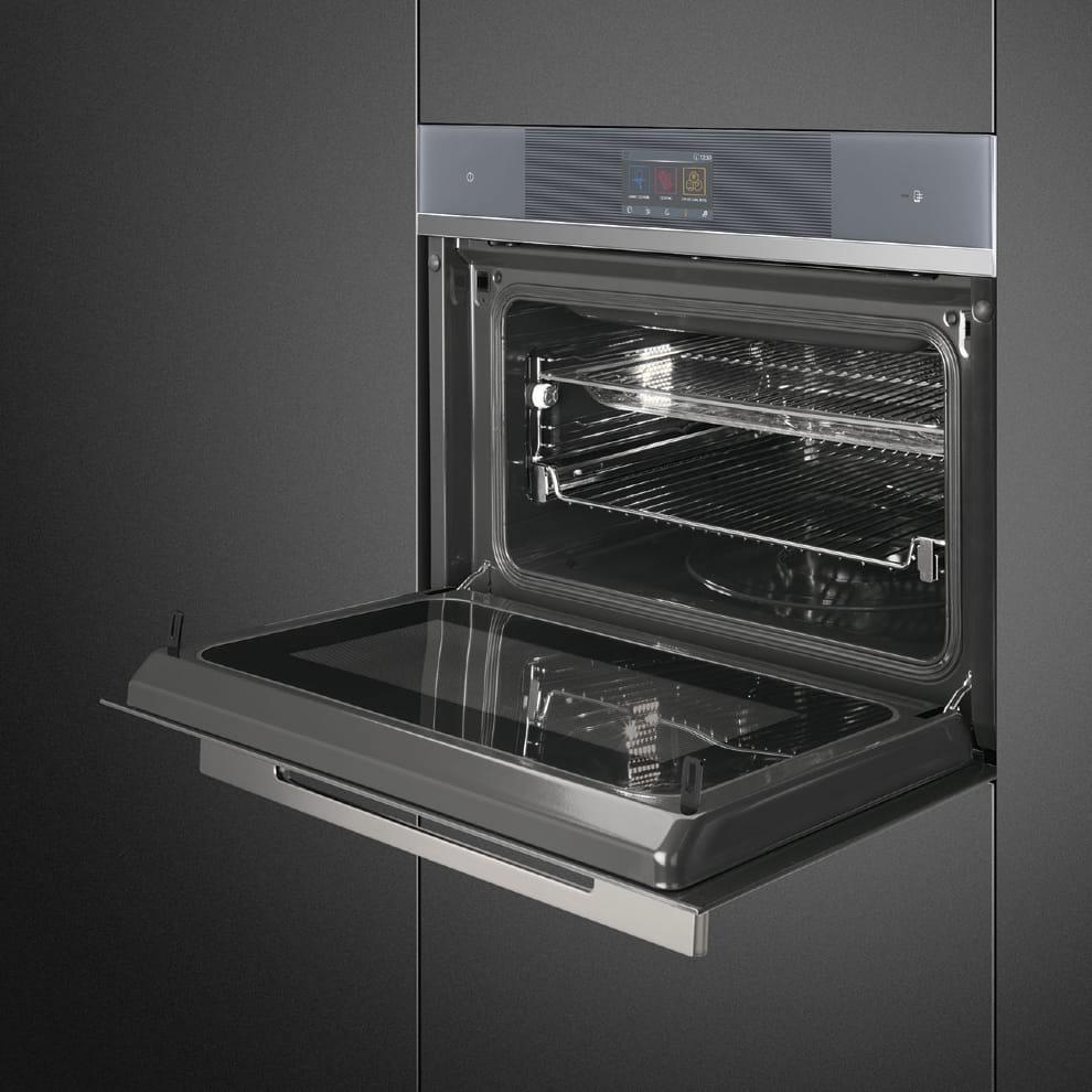Электрический духовой шкаф SMEGSF4104WMCS - 1