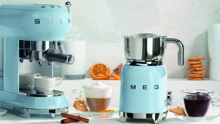 Вспениватель молока SMEG MFF01PBEU - 6