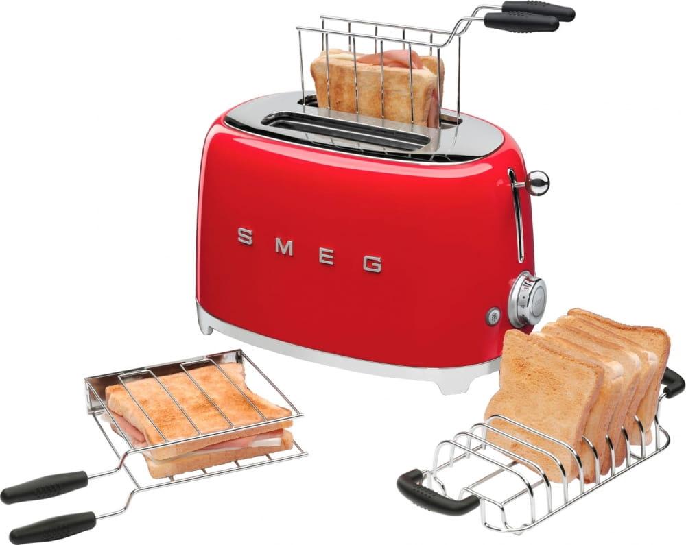 Тостер SMEG TSF01RDEU - 5