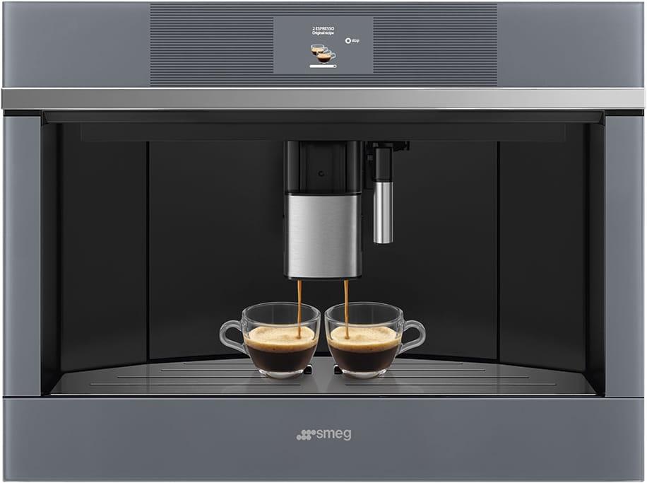 Встраиваемая кофемашина SMEG CMS4104S - 1