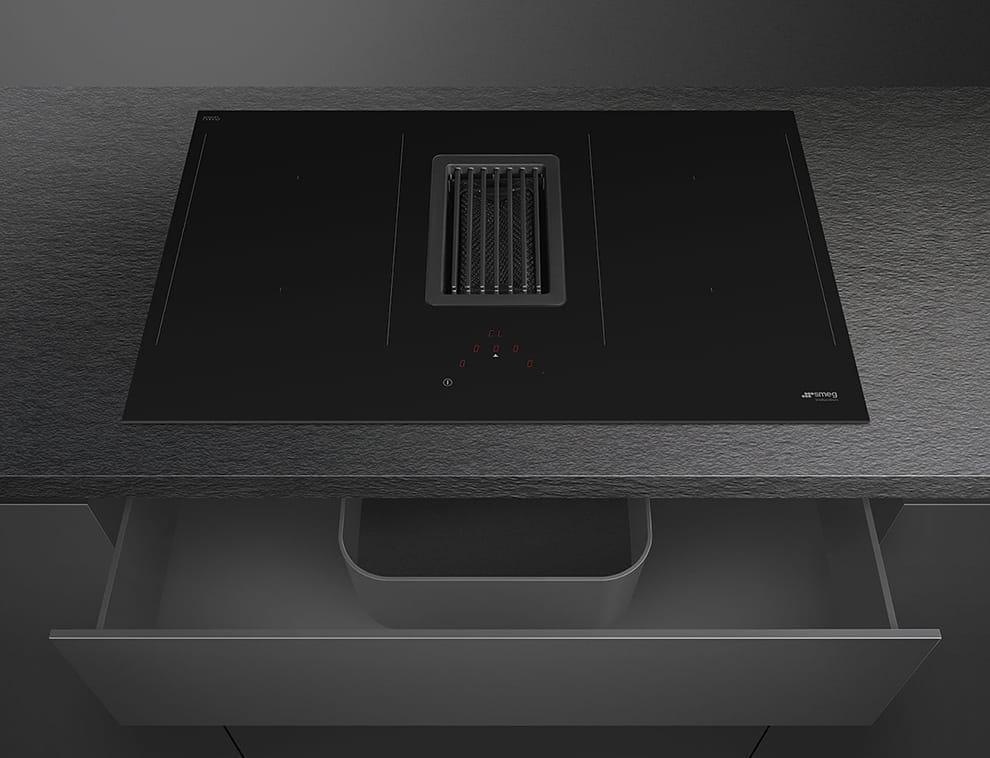 Индукционная варочная панель SMEGHOBD482D - 5