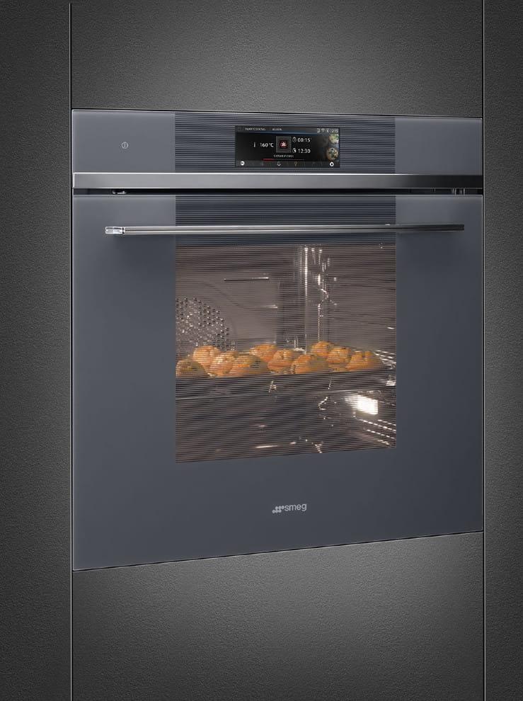 Электрический духовой шкаф SMEGSFP6106WTPS - 5