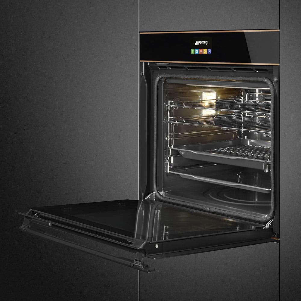Электрический духовой шкаф SMEG SFP6604PNRE - 8