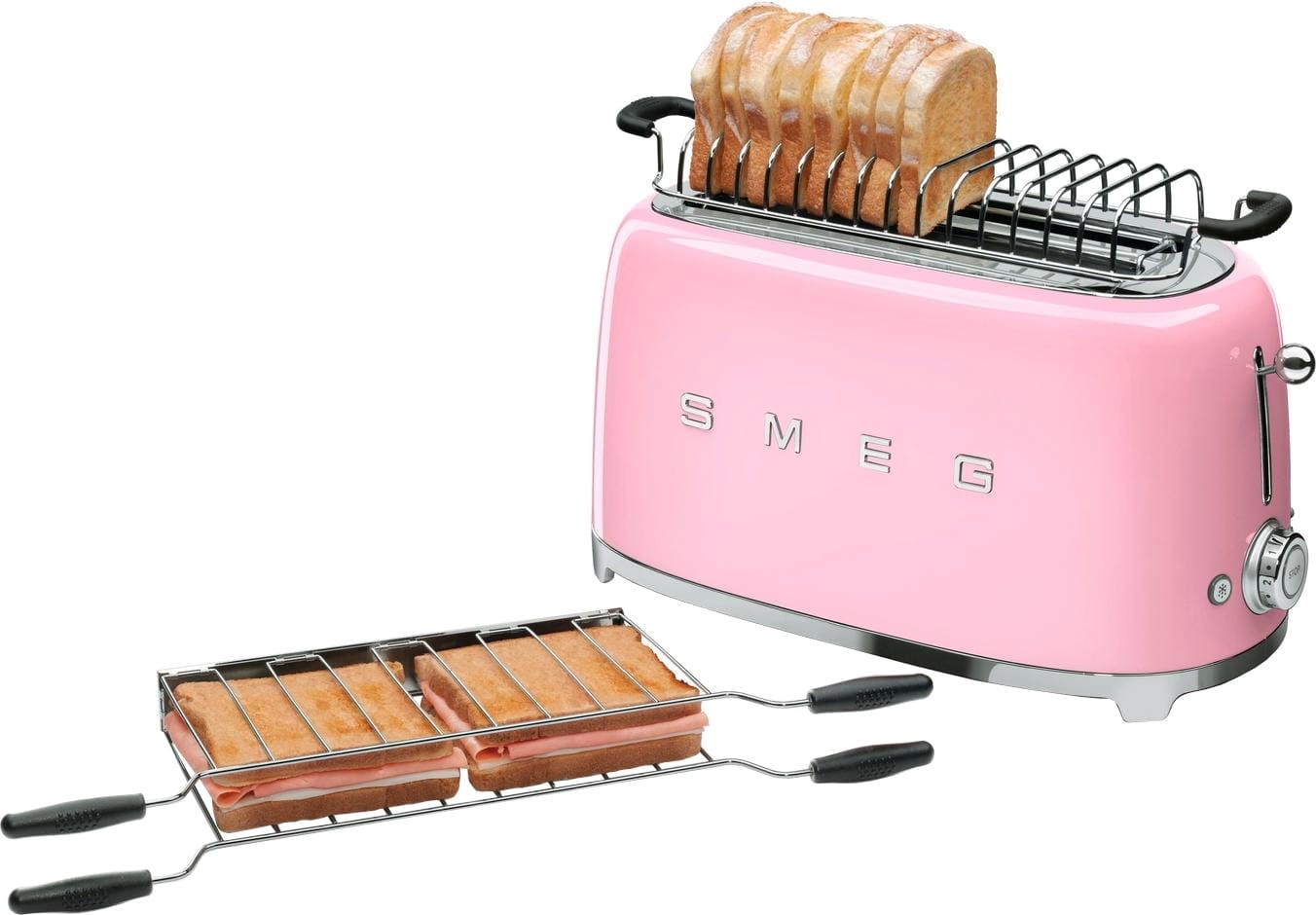 Тостер SMEG TSF02PKEU - 5