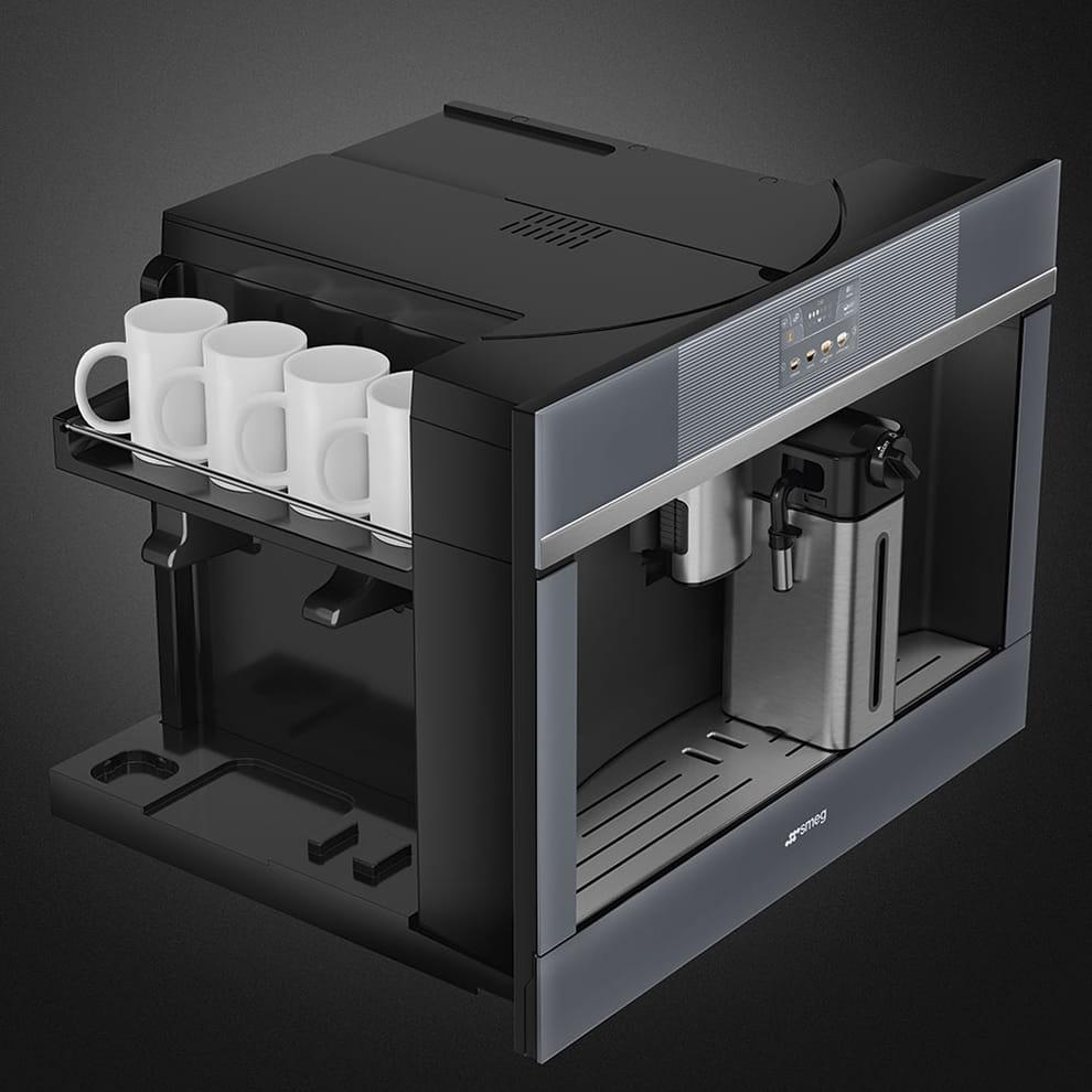 Встраиваемая кофемашина SMEG CMS4104S - 3