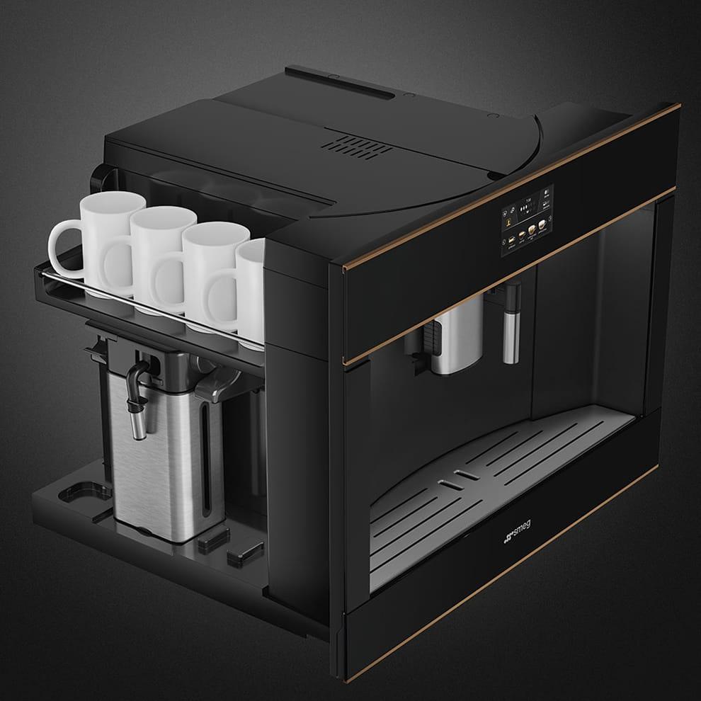 Встраиваемая кофемашина SMEG CMS4604NR - 9