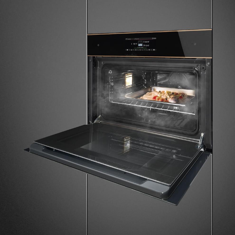 Электрический духовой шкаф SMEGSF4606WVCPNR - 3