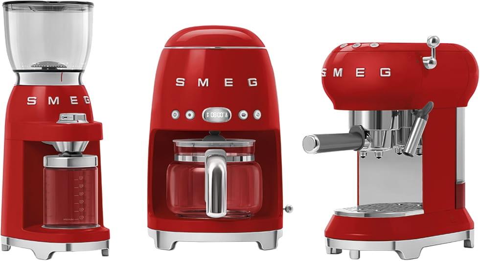 Кофемолка SMEG CGF01RDEU - 1