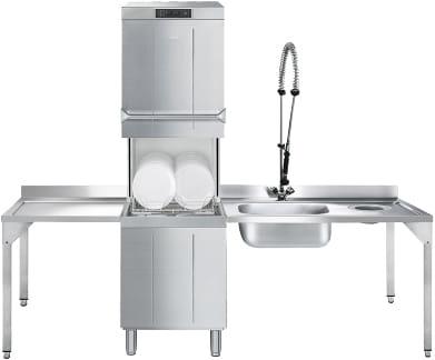 Купольная посудомоечная машина SMEG HTY511DW - 11