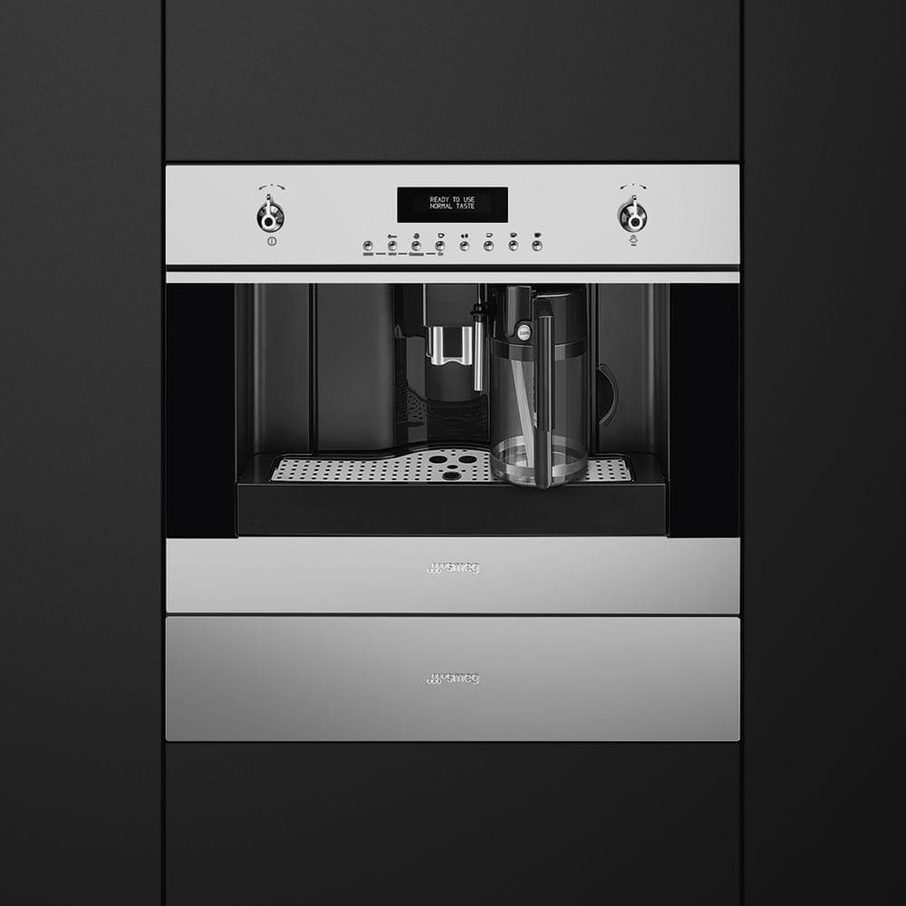 Встраиваемая кофемашина SMEGCMS4303X - 2