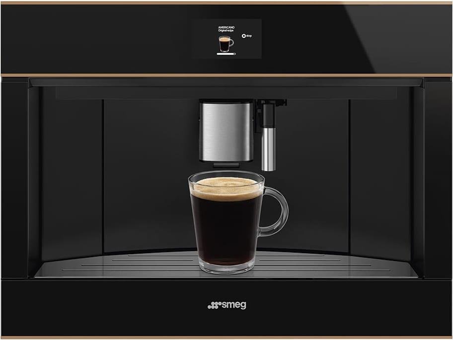 Встраиваемая кофемашина SMEG CMS4604NR - 4