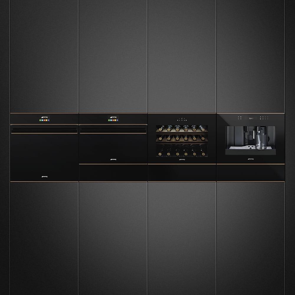 Электрический духовой шкаф SMEG SF4604PMCNR - 1