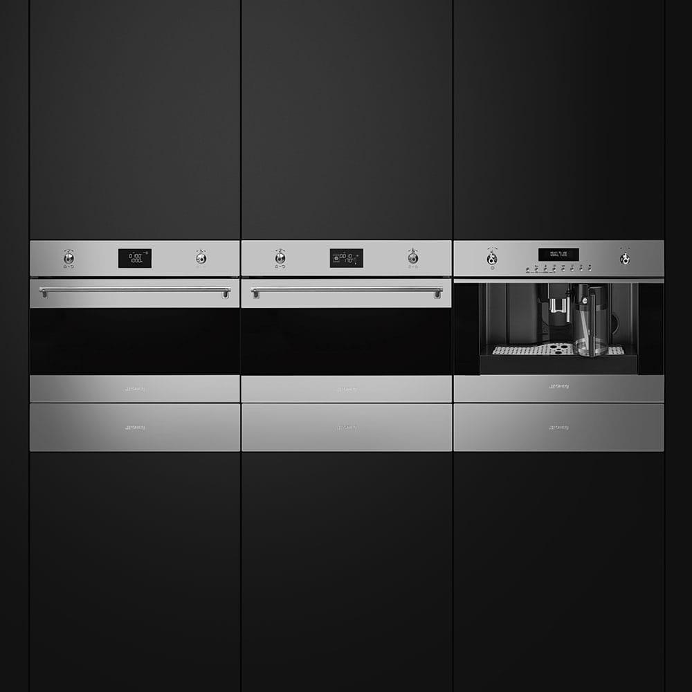 Электрический духовой шкаф SMEG SF4390MCX - 6