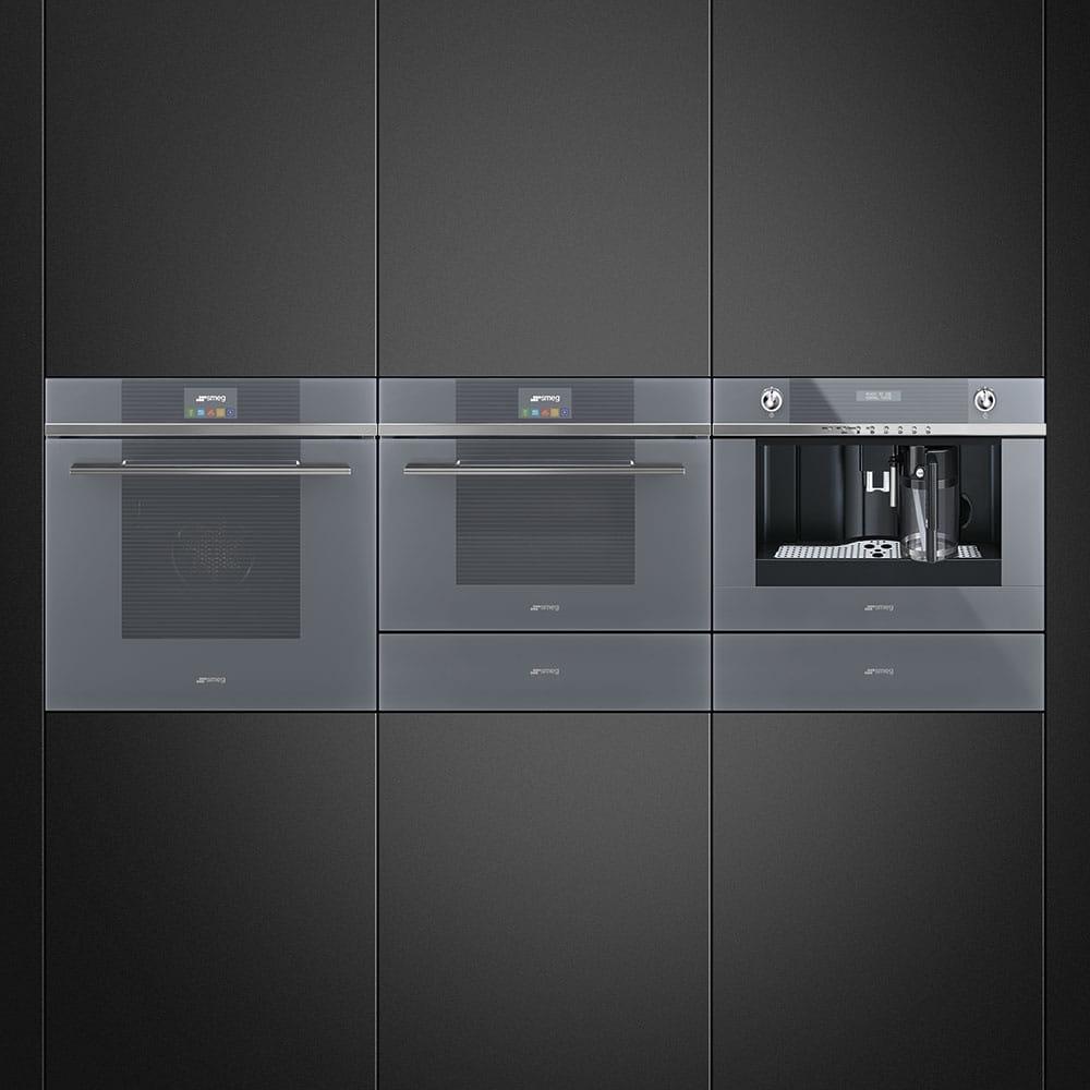 Электрический духовой шкаф SMEGSF4104WVCPS - 2
