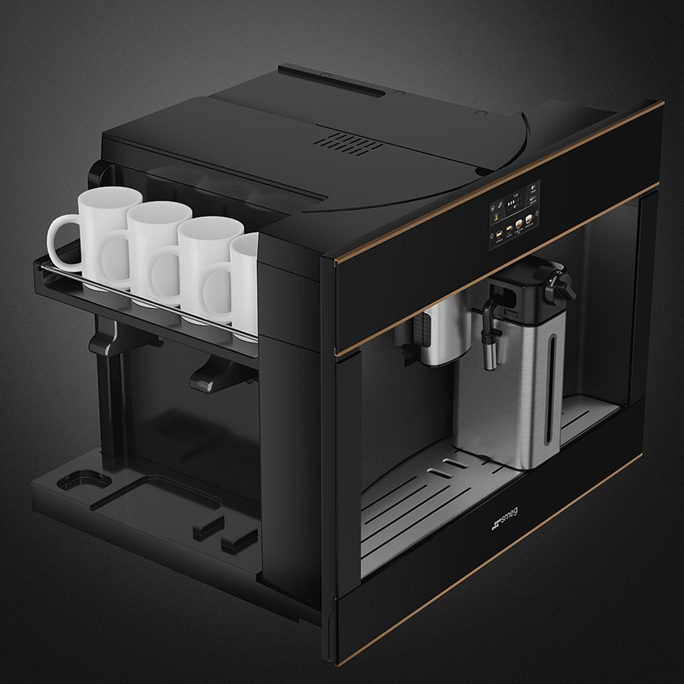 Встраиваемая кофемашина SMEG CMS4604NR - 6