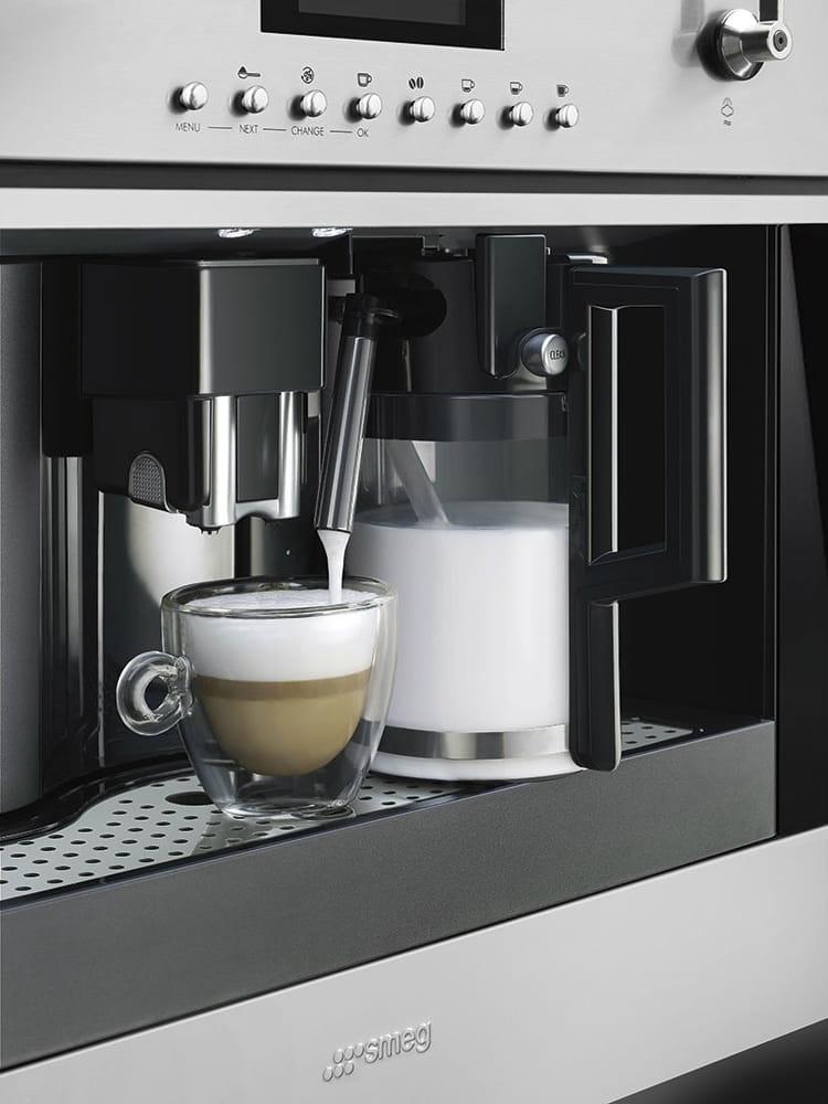 Встраиваемая кофемашина SMEG CMS6451X - 5