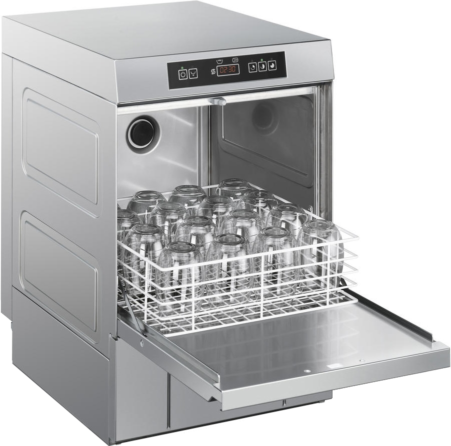 Стаканомоечная машина SMEG UG403DMS - 7