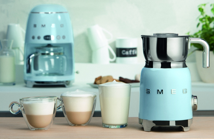 Вспениватель молока SMEG MFF01PBEU - 7