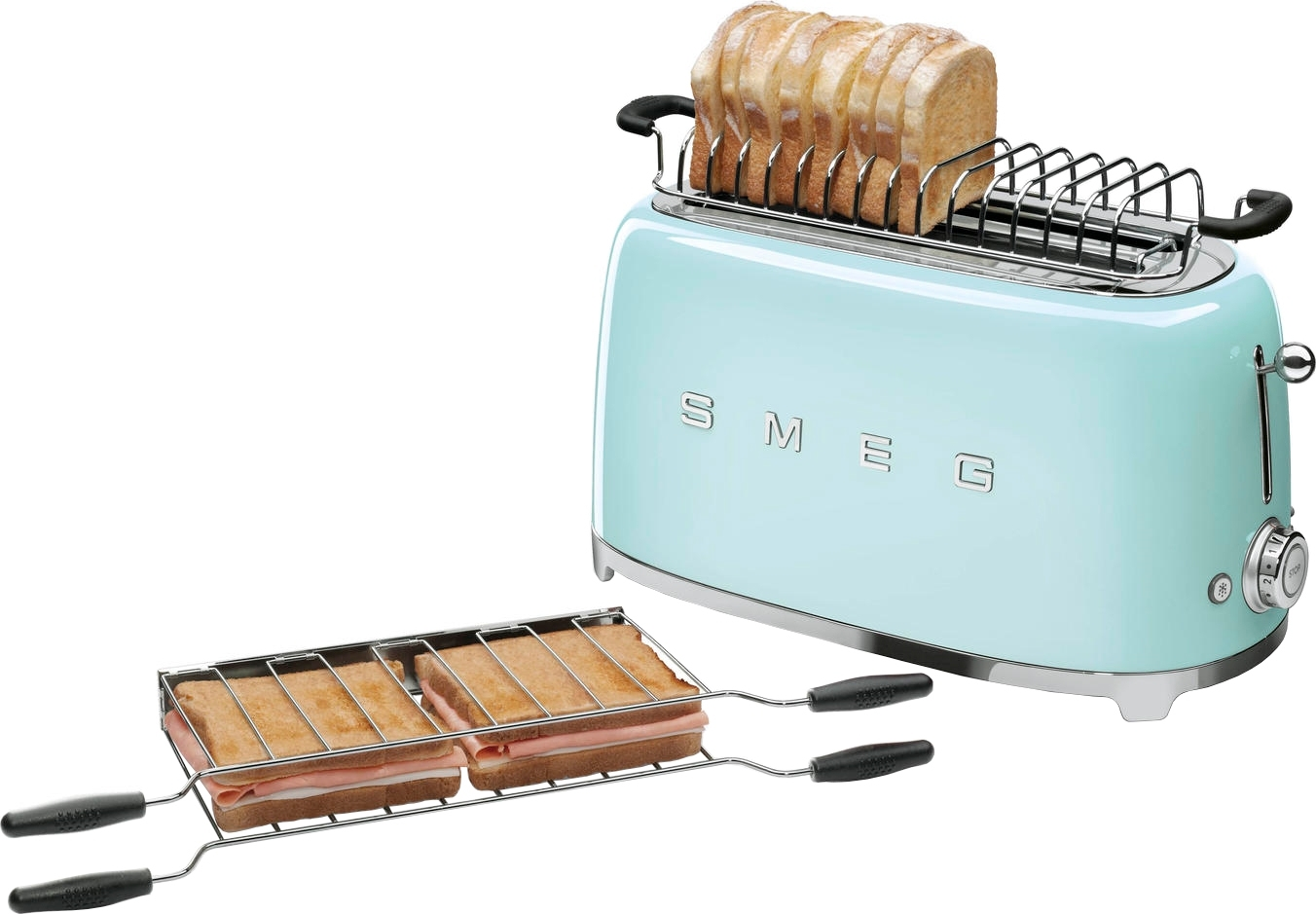 Тостер SMEG TSF02PGEU - 5