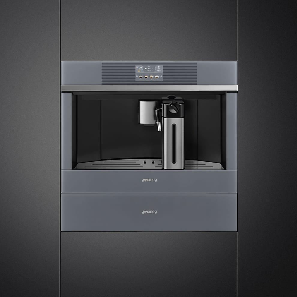 Встраиваемая кофемашина SMEG CMS4104S - 2