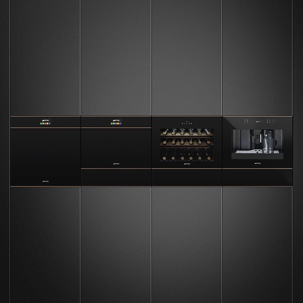 Электрический духовой шкаф SMEG SFP6604PNRE - 2